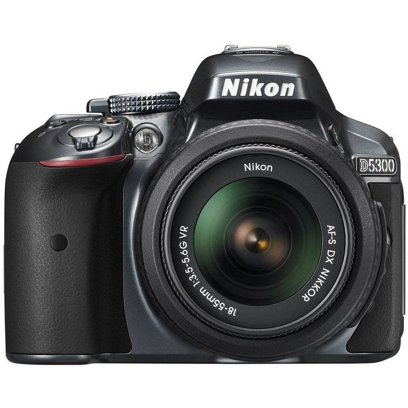Aparat foto DSLR Nikon D5300, 24,2MP black